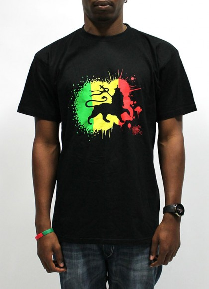 Tee Reggae Men black